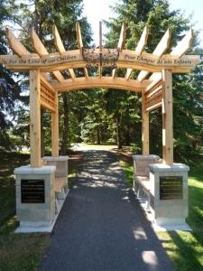Butterfly Garden arch